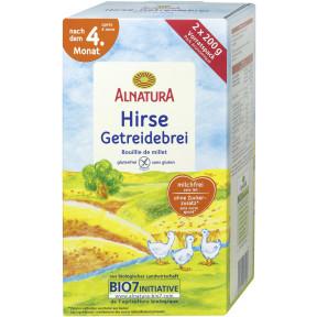 Alnatura Bio Hirse-Getreidebrei nach dem 4. Monat 2x 200 g