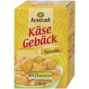 Alnatura Bio Käsegebäck Gouda 80G