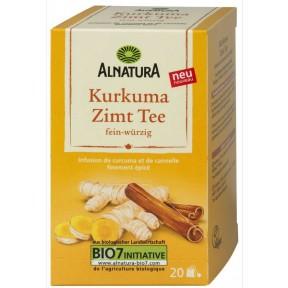 Alnatura Bio Kurkuma Zimt Tee 20x 2 g