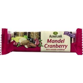 Alnatura Bio Mandel-Cranberry Fruchtschnitte 75G