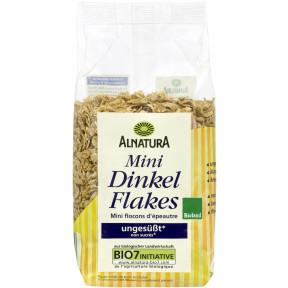 Alnatura Bio Mini Dinkel Flakes ungesüßt 175G