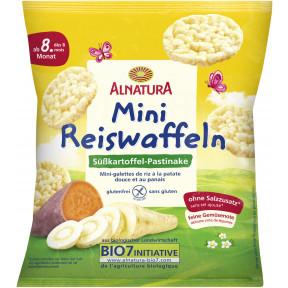Alnatura Bio Mini Reiswaffeln Süßkartoffel-Pastinake 30 g