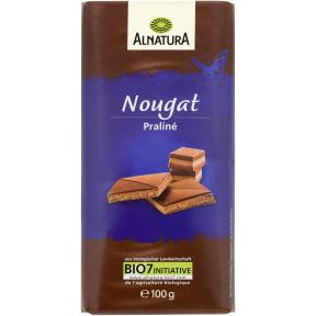 Alnatura Bio Nougat Schokolade 100G