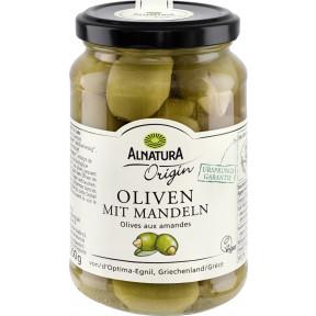 Alnatura Origin Bio Oliven mit Mandeln 350G