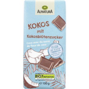 Alnatura Bio Schokolade Kokos mit Kokosblütenzucker 100 g