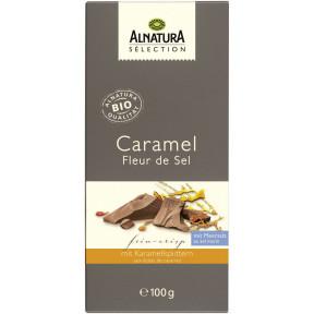 Alnatura Selection Bio Caramel Fleur de Sel Schokolade 100G