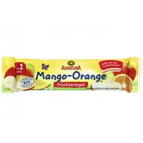 Alnatura Bio Früchteriegel Mango-Orange ab 1 Jahr