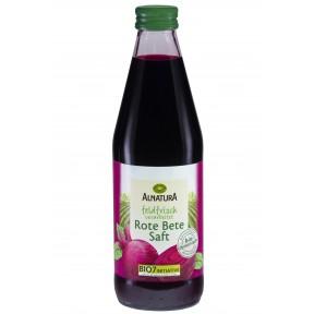 Alnatura Bio Rote Bete Saft feldfrisch verarbeitet 0,33 ltr