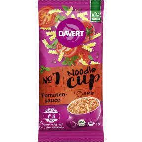 Bio Davert Noodle-Cup Tomatensauce 67g