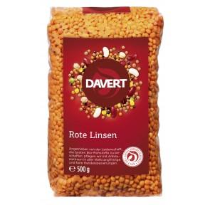 Davert Bio Rote Linsen 500 g