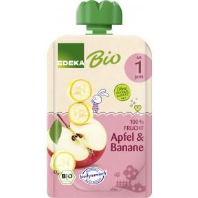 EDEKA Bio Apfel & Banane ab 1 Jahr 100G