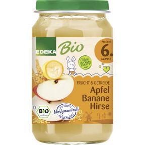 EDEKA Bio Apfel-Banane-Hirse ab dem 6.Monat 190G