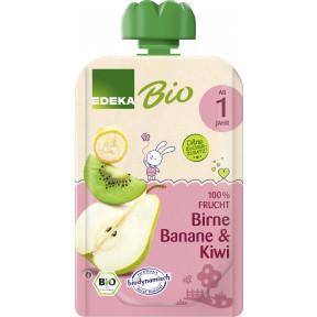 EDEKA Bio Birne, Banane & Kiwi ab 1.Jahr 100G