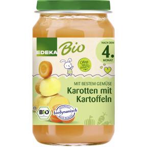 EDEKA Bio Karotte mit Kartoffeln nach dem 4.Monat 190G