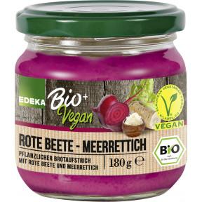Edeka Bio+Vegan Streichcreme Rote Bete-Meerrettich 180 g
