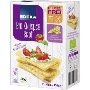 EDEKA Bio Knusper Brot glutenfrei