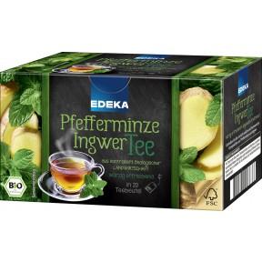 EDEKA Bio Pfefferminze-Ingwer-Tee