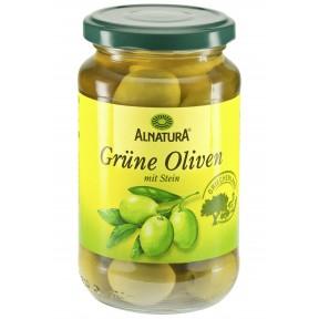 Alnatura Bio Grüne Oliven mit Stein