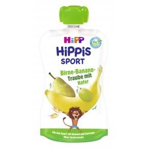 Hipp Bio Hippis Sport Birne-Banane-Traube mit Hafer
