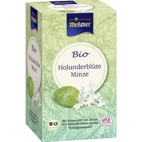 Meßmer Bio Tee Holunderblüte-Minze 18x 2 g