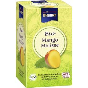 Meßmer Bio Tee Mango-Melisse 18x 2,5 g