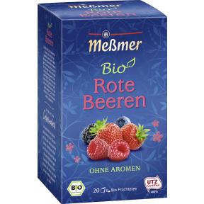Meßmer Bio Tee Rote Beeren 20x 3 g