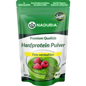 Naduria Bio Premium Hanf Proteinpulver vegan 200g