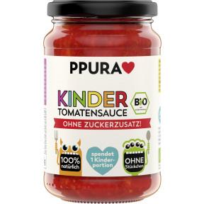 PPURA Bio Kinder Tomatensauce ohne Zuckerzusatz 340G