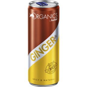 Red Bull Bio Organics Ginger Ale 250 ml
