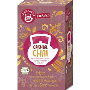 Teekanne Bio Organics Oriental Chai 20x 1,8 g
