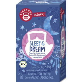 Teekanne Bio Organics Sleep & Dream 20ST 34G