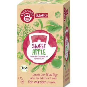 Teekanne Bio Organics Sweet Apple 20x 2,5 g