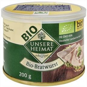 Unsere Heimat Bio-Bratwurst 200 g