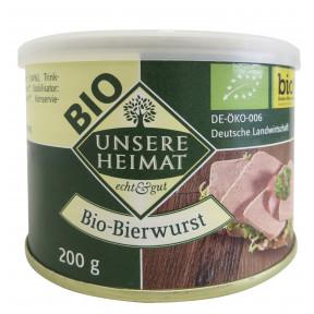 Unsere Heimat Bio Bierwurst 200 g