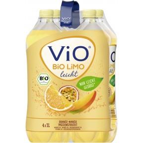 Vio Bio Limo Mango leicht 4x 1 ltr PET