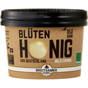 Breitsamer Bioland Blüten Honig mild-cremig 315 g