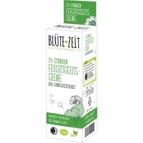 Blüte-Zeit 24-Stunden Feuchtigkeitscreme Bio-Ginkgoextrakt 50ML