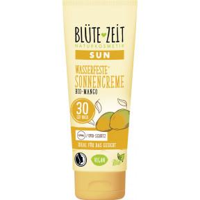 Blüte-Zeit Wasserfeste Sonnencreme Bio Mango LSF30 75ML