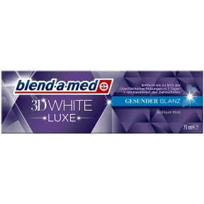 blend-a-med Zahncreme 3D White Luxe Gesunder Glanz
