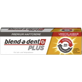 blend-a-dent Plus Premium Haftcreme Duo Kraft 40 g