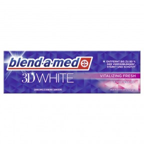 blend-a-med Zahncreme 3D White Vitalizing Fresh 75 ml