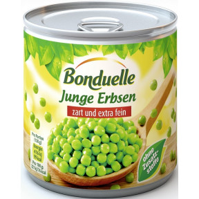 Bonduelle Junge Erbsen zart und extra fein 400 g