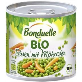 Bonduelle Bio Erbsen mit Möhrchen 400 g