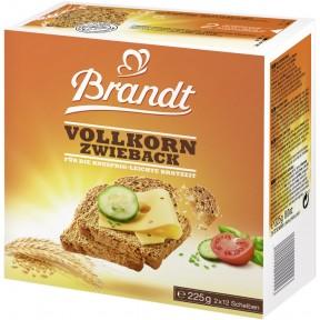 Brandt Vollkorn Zwieback 225 g