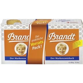 Brandt Markenzwieback Doppelpack 450 g