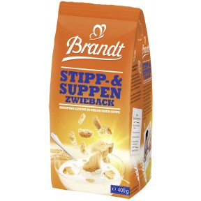 Brandt Stipp- & Suppen Zwieback 400 g