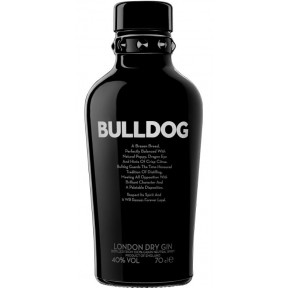 Bulldog London Dry Gin 0,7 ltr