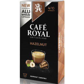 Café Royal Nespresso Hazelnut Kaffeekapseln 10x 5 g