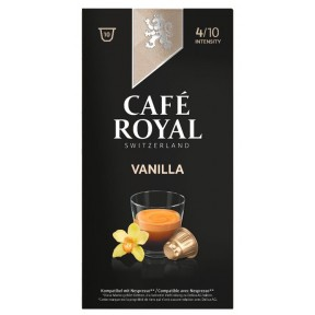 Cafe Royal Vanilla Intensität 4 Kapseln
