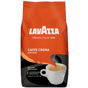 Lavazza Caffe Crema Gustoso ganze Bohnen 1 kg